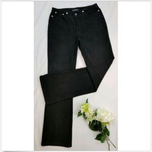 Cambio Black Kate Boot-Cut Jeans